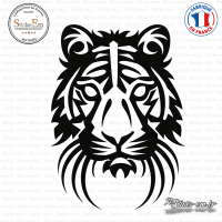 Sticker Lion Tribal sticks-em.fr