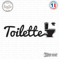 Sticker Toilettes WC sticks-em.fr