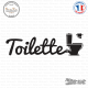 Sticker Toilettes WC