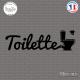 Sticker Toilettes WC Sticks-em.fr Couleurs au choix