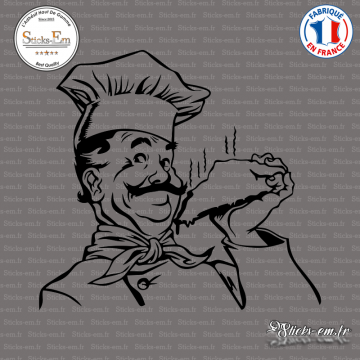 Sticker Chef Gourmand