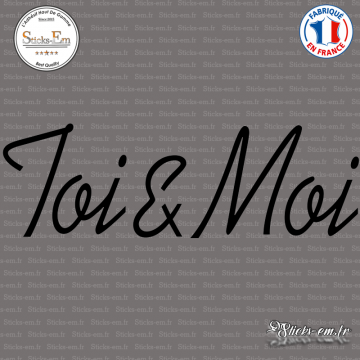 Sticker Toi & Moi