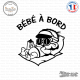 Sticker Bebe a bord garcon sticks-em.fr