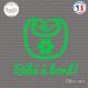 Sticker Bebe a bord bavoir Sticks-em.fr Couleurs au choix