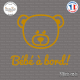 Sticker Bebe a bord nounours Sticks-em.fr Couleurs au choix