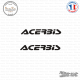 2 Stickers Acerbis Sticks-em.fr Couleurs au choix
