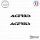 2 Stickers Acerbis