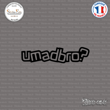 Sticker JDM Umadbro