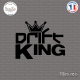 Sticker JDM Drift King Sticks-em.fr Couleurs au choix