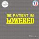 Sticker JDM Be patient Im lowered Sticks-em.fr Couleurs au choix