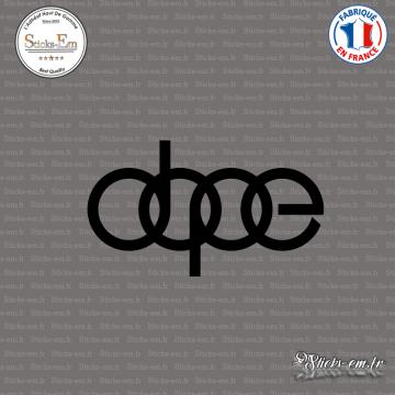 Sticker JDM dope audi