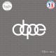 Sticker JDM dope audi sticks-em.fr