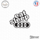 Sticker JDM Eat Sleep Audi