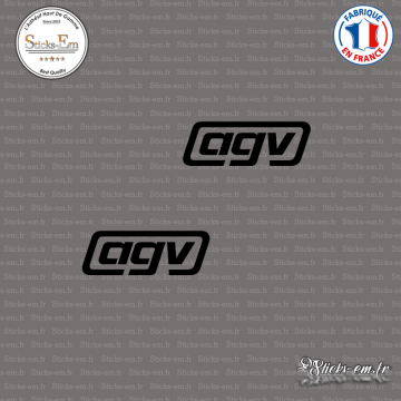 2 Stickers AGV