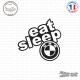 Sticker JDM Eat Sleep Bmw
