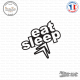 Sticker JDM Eat Sleep Citroen