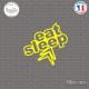 Sticker JDM Eat Sleep Citroen Sticks-em.fr Couleurs au choix