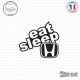 Sticker JDM Eat Sleep Honda