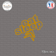 Sticker JDM Eat Sleep Citroen Sticks-em.fr Couleurs au choix