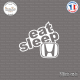Sticker JDM Eat Sleep Honda Sticks-em.fr Couleurs au choix