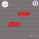 2 Stickers AGV sticks-em.fr