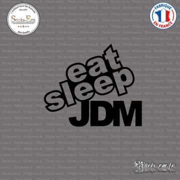 Sticker JDM Eat Sleep Jdm