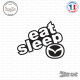 Sticker JDM Eat Sleep Mazda