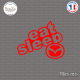 Sticker JDM Eat Sleep Mazda Sticks-em.fr Couleurs au choix