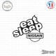 Sticker JDM Eat Sleep Nissan
