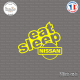 Sticker JDM Eat Sleep Nissan Sticks-em.fr Couleurs au choix