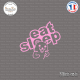 Sticker Eat Sleep Pedobear Sticks-em.fr Couleurs au choix