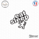 Sticker JDM Eat Sleep Peugeot