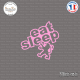 Sticker JDM Eat Sleep Peugeot Sticks-em.fr Couleurs au choix