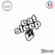 Sticker JDM Eat Sleep Renault