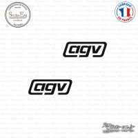2 Stickers AGV sticks-em.fr