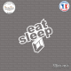 Sticker JDM Eat Sleep Renault Sticks-em.fr Couleurs au choix