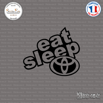 Sticker JDM Eat Sleep Toyota
