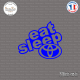 Sticker JDM Eat Sleep Toyota Sticks-em.fr Couleurs au choix