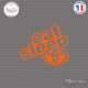 Sticker JDM Eat Sleep Toyota Sticks-em.fr Couleurs au choix