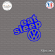 Sticker JDM Eat Sleep Volkswagen Sticks-em.fr Couleurs au choix