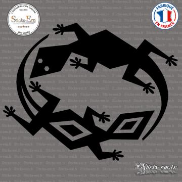 Sticker Lizards Tribal