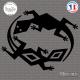 Sticker Lizards Tribal Sticks-em.fr Couleurs au choix