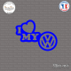 Sticker JDM I Love My Volkswagen sticks-em.fr