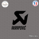 Sticker Akrapovic Logo Sticks-em.fr Couleurs au choix