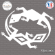 Sticker Lizards Tribal Sticks-em.fr Couleurs au choix