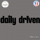 Sticker JDM daily driven Sticks-em.fr Couleurs au choix