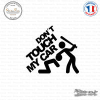 Sticker JDM don't touch my car