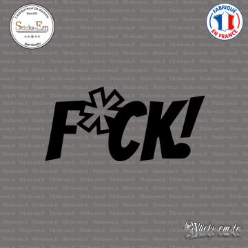 Sticker JDM Drift F-ck
