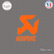 Sticker Akrapovic Logo
