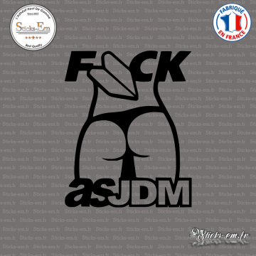 Sticker JDM Fuck as JDM
